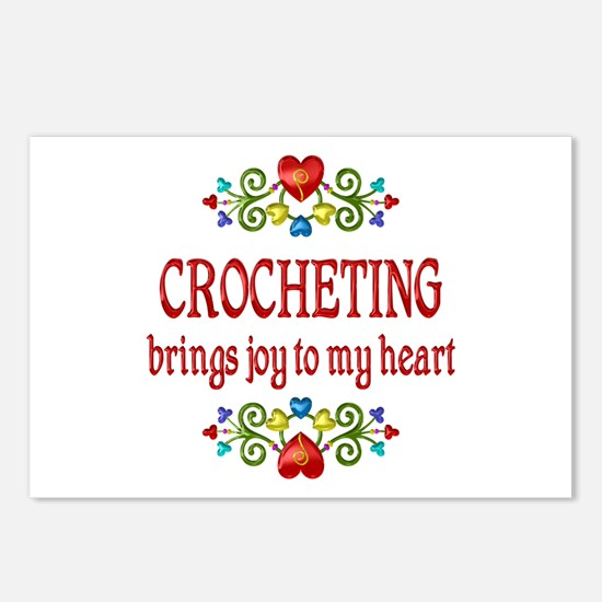 Crocheting Joy Postcards (Package of 8)
