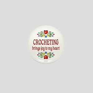 Crocheting Joy Mini Button
