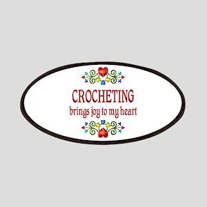 Crocheting Joy Patches