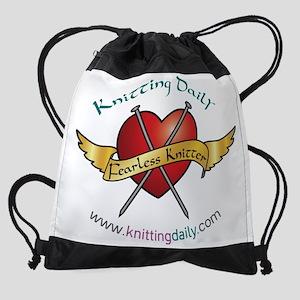 KDFearlessweb.png Drawstring Bag