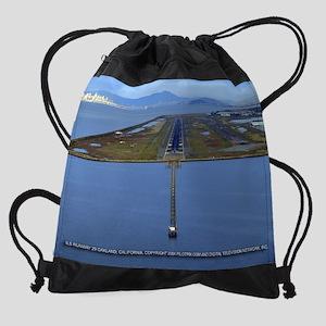 pilotpixKOAK29calendar Drawstring Bag