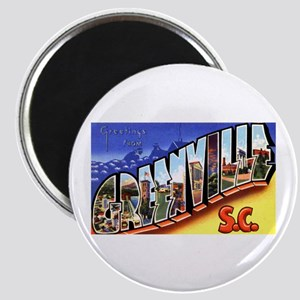 Greenville South Carolina Greetings Magnet