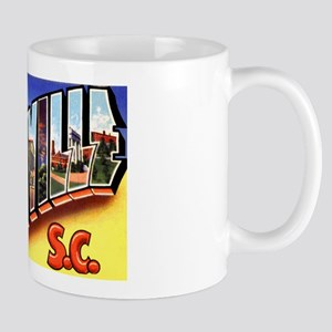 Greenville South Carolina Greetings Mug