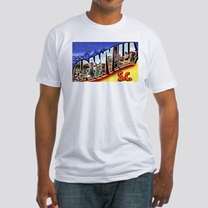 Greenville South Carolina Greetings (Front) Fitted