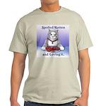 Spoiled Ash Grey T-Shirt