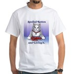 Spoiled White T-Shirt