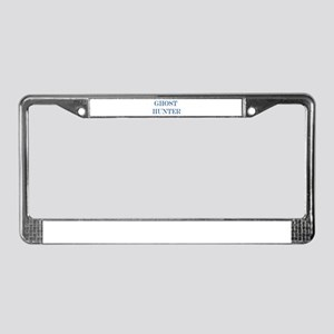 ghost hunter License Plate Frame