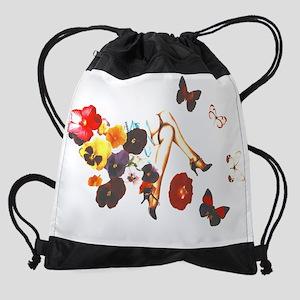 butterflies 2 Drawstring Bag