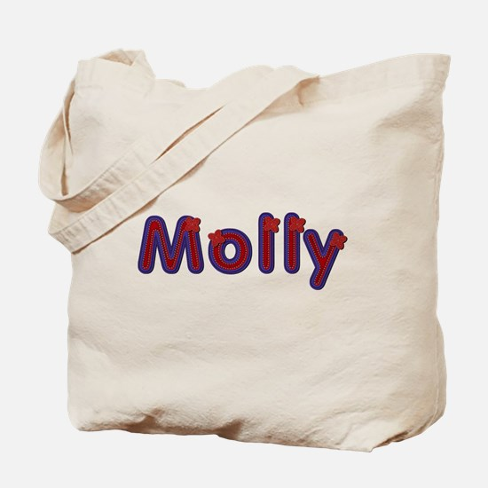 Molly Red Caps Tote Bag