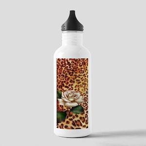 vintage rose cheetah p Stainless Water Bottle 1.0L
