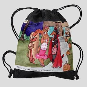 trickster8x10 Drawstring Bag