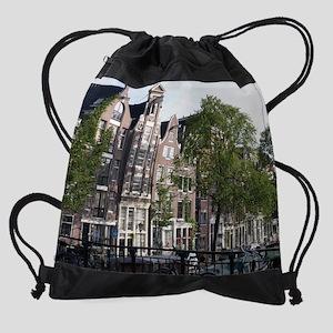 Amsterdam Gables Drawstring Bag
