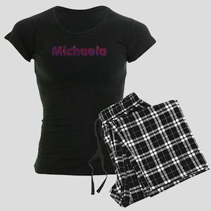Michaela Red Caps Pajamas