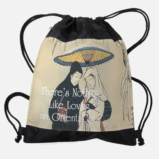 orientgirl1.png Drawstring Bag
