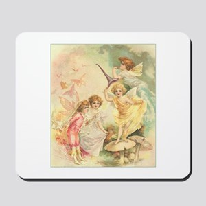 Fairies on Toadstools Mousepad