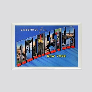 Rochester New York Greetings Rectangle Magnet (10