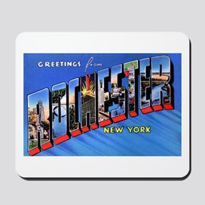 Rochester New York Greetings Mousepad