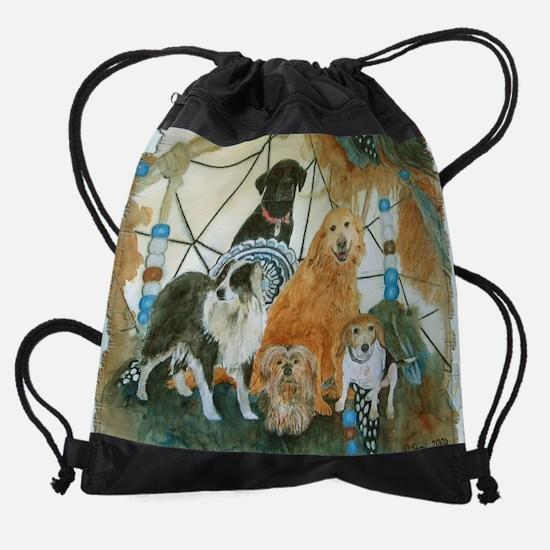 dcmouse.png Drawstring Bag