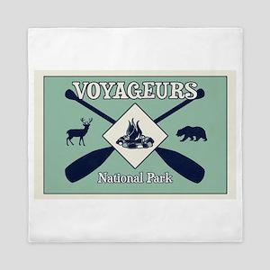 Voyageurs National Park Camping Queen Duvet