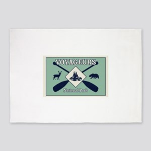 Voyageurs National Park Camping 5'x7'Area Rug