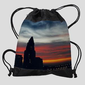 calendar 2010 city hall sunrise 1.p Drawstring Bag