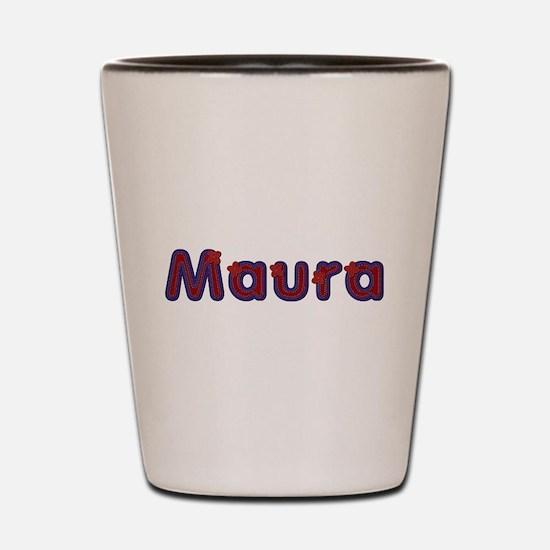 Maura Red Caps Shot Glass