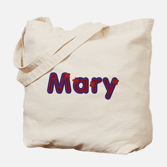 Mary Red Caps Tote Bag