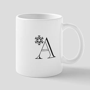 Winter Monogram A Mug