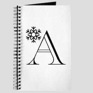 Winter Monogram A Journal