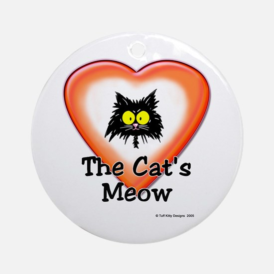 CAT'S MEOW - Ornament (Round)