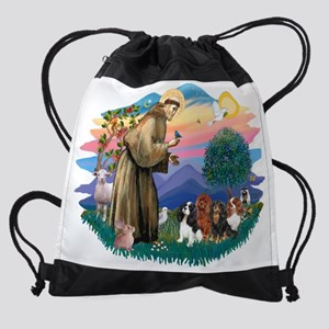 The Saint - Cavalier King Charles S Drawstring Bag