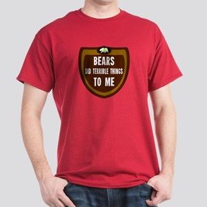 Violated By Bears Man shirt