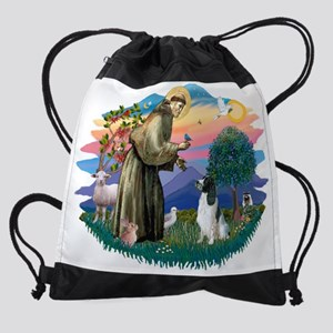 The Saint - English Springer Spanie Drawstring Bag