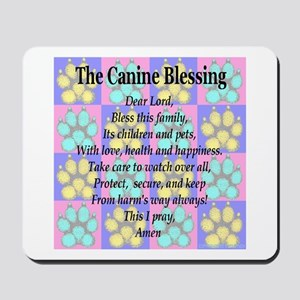 K9 Blessing Mousepad