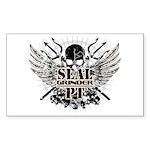 sealgrinder-skull-front Sticker