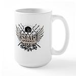 sealgrinder-skull-front Mugs