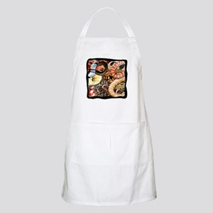 Snake Collage BBQ Apron