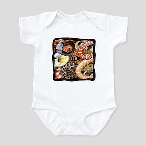 Snake Collage Infant Bodysuit