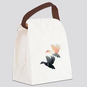 EARLY MORNING RISE Canvas Lunch Bag