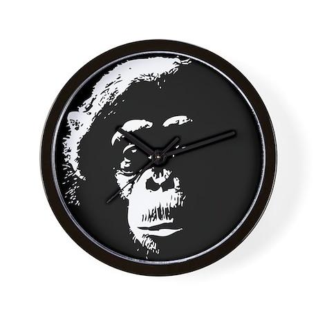 Chimp 1 Wall Clock