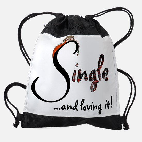 anti v-day 14.PNG Drawstring Bag