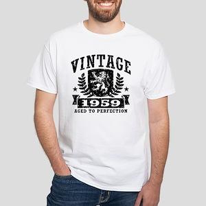 Vintage 1959 White T-Shirt