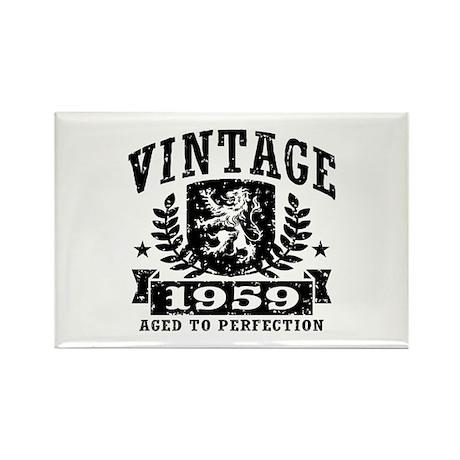 Vintage 1959 Rectangle Magnet
