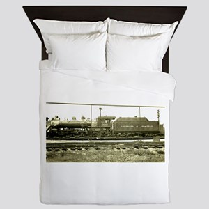 RailroadArkansas Queen Duvet