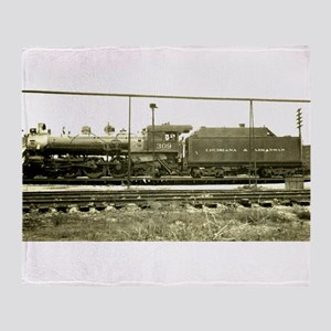 RailroadArkansas Throw Blanket