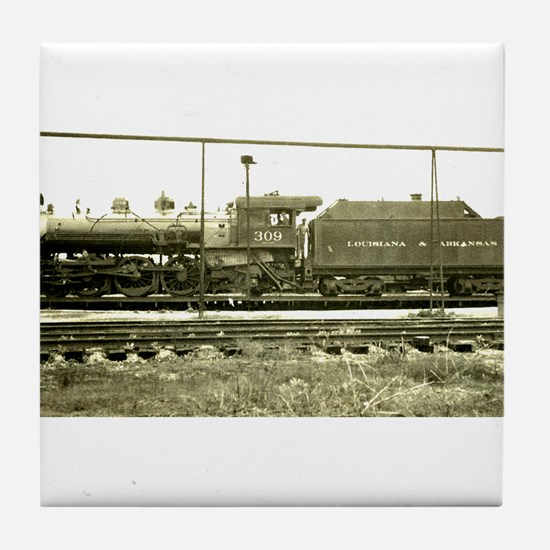 RailroadArkansas Tile Coaster