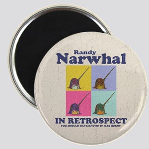 Randy Narwhal Magnet