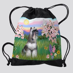 MP-Blossoms-Schnauzer7.png Drawstring Bag