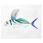 Roosterfish fish King Duvet