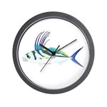 Roosterfish fish Wall Clock
